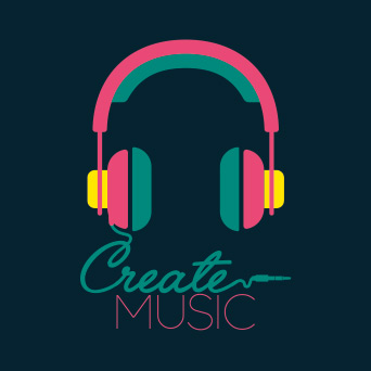 CREATE MUSIC Flyout