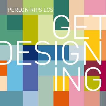 PERLON RIPS LCS: Die Perlon-Rips-Farbgebung ist inspiriert durch die Farbklaviatur von Le Corbusier (1887–1965), dem weltbekannten Architekten, Designer, Maler und Stadtplaner.
