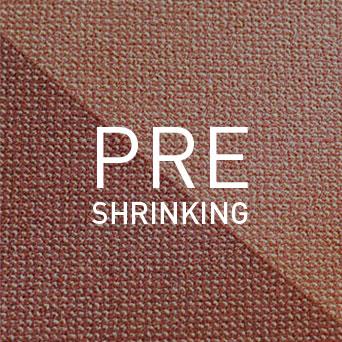 PRESHRINKING: Mit diesem Verfahren wird das Schrumpfen von Luftfahrt-Teppichböden auf ein Minimum reduziert.