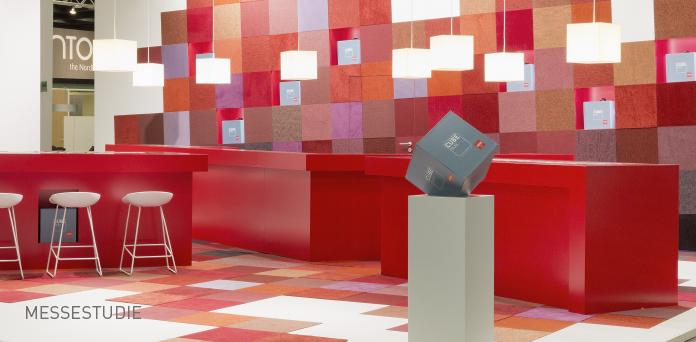 MESSESTUDIE: ANKER ist regelmäßig auf nationalen und internationalen Fachmessen für Architektur und Interiordesign präsent.