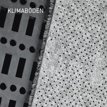KLIMABÖDEN: Quellbelüftungssystemen transportieren langsam fließende Luft durch ein durchlässiges Fußbodensystem in den darüber liegenden Raum.