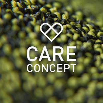 CARE CONCEPT: Anspruchsvolle Teppichböden für den Gesundheitsmarkt.