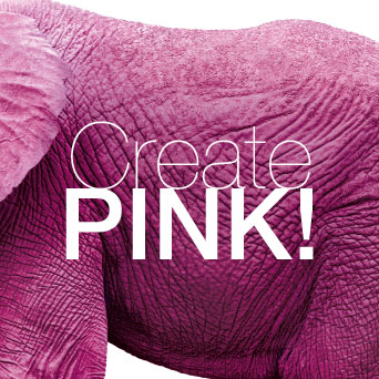 CREATE PINK Flyout