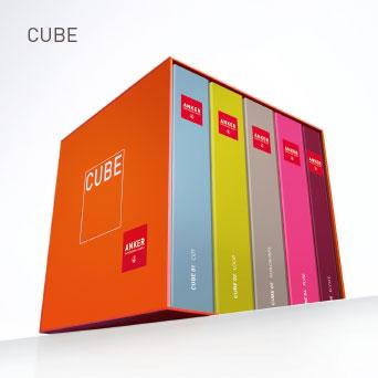 CUBE: Objekt-Teppichböden der Extraklasse in einer überzeugenden Sortimentsvielfalt.