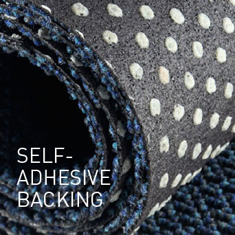 SELF-ADHESIVE BACKING