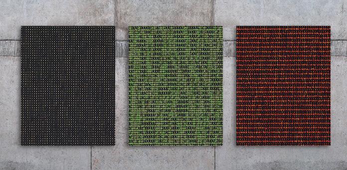 TEXTILHARTBELÄGE: Puristische Bodengestaltung aus ressourcenschonendem Material